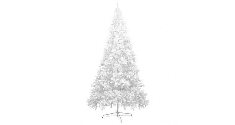 Brad artificial de Crăciun, XXL, 400 cm, alb