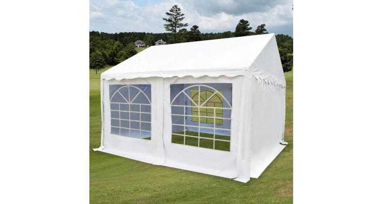 Pavilion PVC pentru grădină 3 x 4 m alb