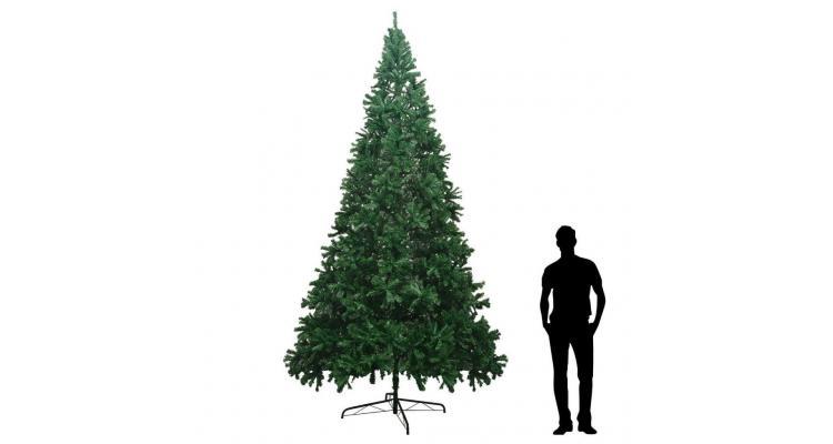 Brad de Crăciun artificial XXL 400 cm, verde