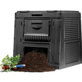 Compostor ecologic Gradina - 470 L Negru