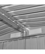 Magazie metalica pentru gradina cu baza fundatie 5,3 m³