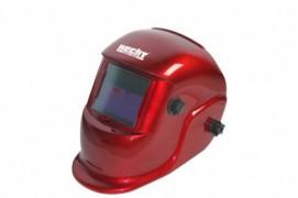 Masca sudura rosie cu indicator pentru baterie descarcata, 0.49 kg