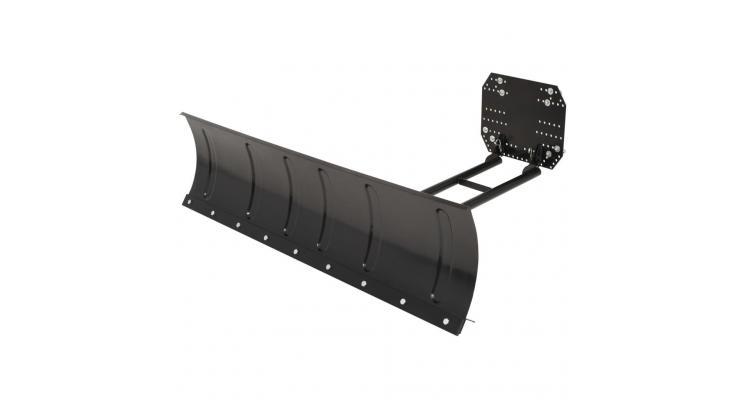 Plug de zapada pentru ATV, 150 x 38 cm, negru