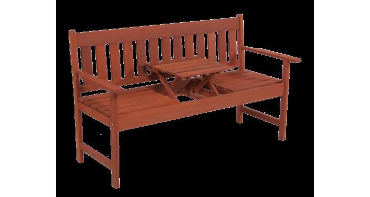 Occasional Bench Banca din lemn masiv cu masa
