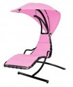 Dream Pink Balansoar cu umbrela si cadru din otel