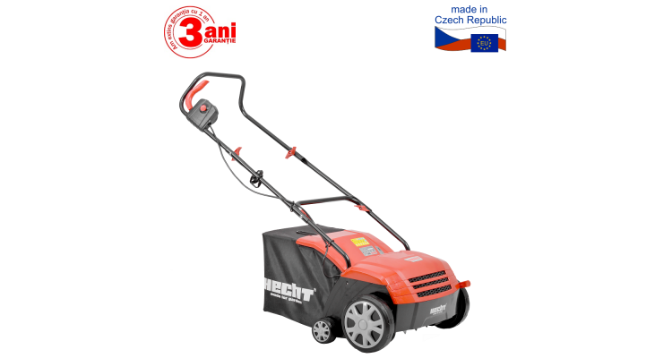 2 in 1 Scarificator si aerator de gazon cu motor electric 1500 W
