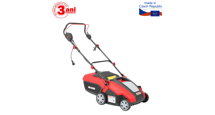 2 in 1 Scarificator si aerator cu motor electric de gazon 1500 W