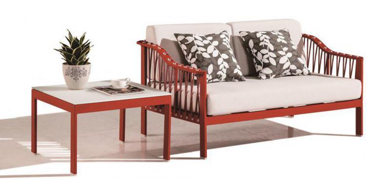 Set mobilier gradina Canapea cu doua locuri si masuta Pandora