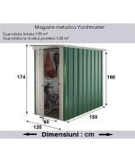 Magazie metalica Yardmaster, 120x158x160 cm