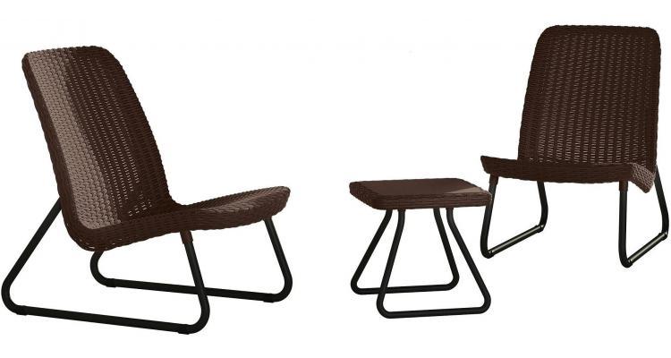 Set mobilier gradina Rio patio set - Maro/Auriu imagine 2021 kivi.ro