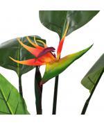 Plantă artificială strelitzia reginae pasărea paradisului 155 cm