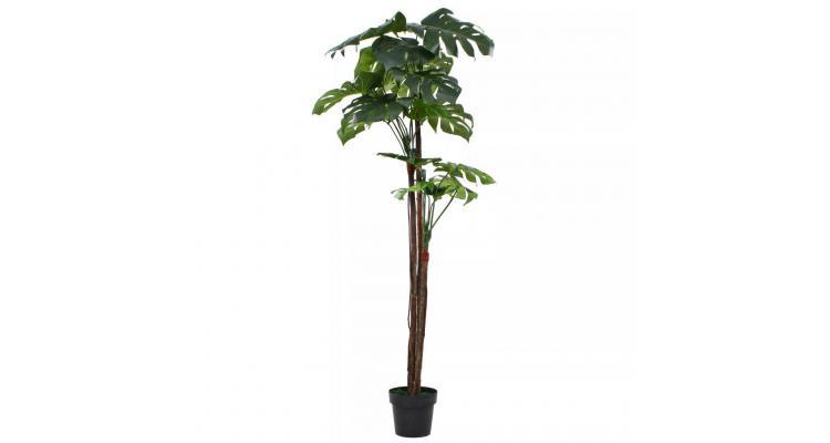 Plantă artificială monstera cu ghiveci 170 cm verde poza kivi.ro