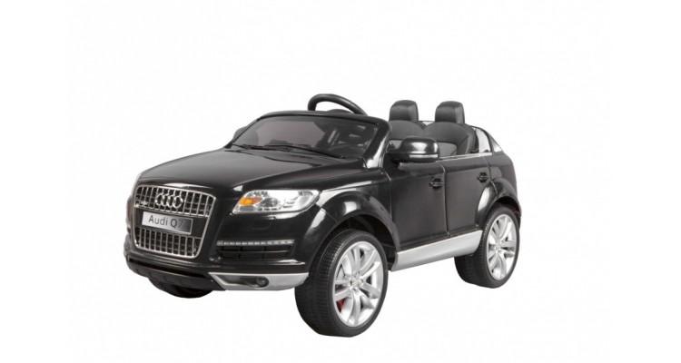 Audi Negru Masina Baterii Copii Spatii Joaca Ilustratie