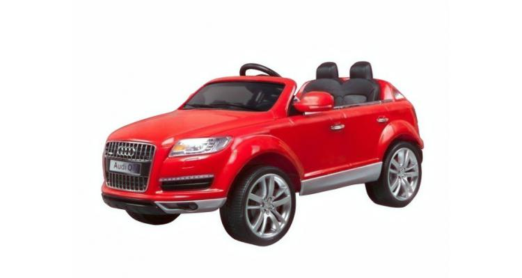 Audi Rosu Masina Baterii Copii Imagine