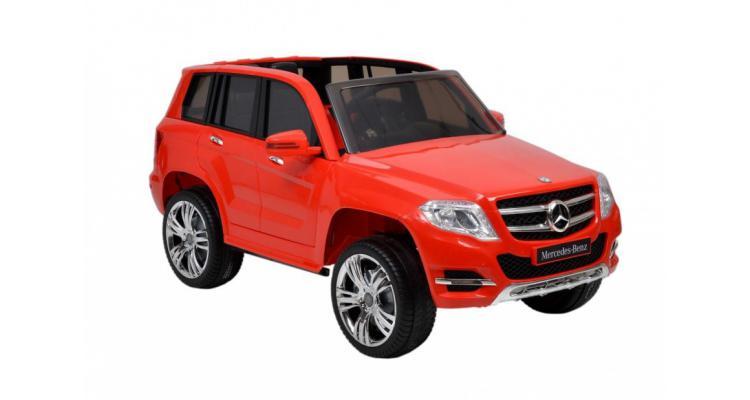 Mercedes Benz Rosu Masina Baterii Copii Poza