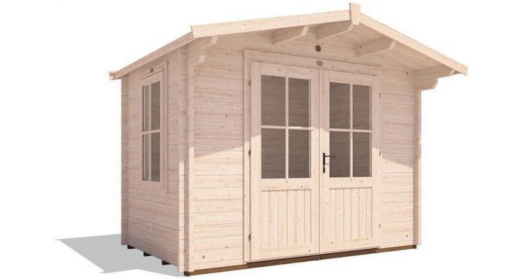 Casuta din lemn in stil englezesc Avon Log Cabin poza kivi.ro
