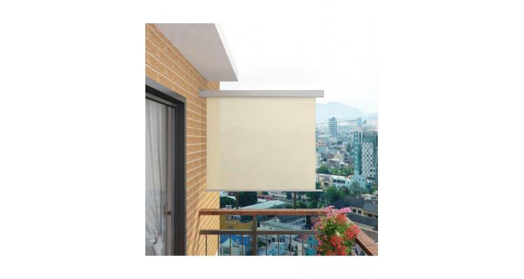 Copertina laterala multifunctionala terasa, 150 x 200 cm, crem poza kivi.ro
