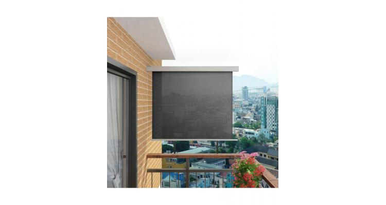 Copertina laterala multifunctionala terasa, 150 x 200 cm, gri imagine 2021 kivi.ro