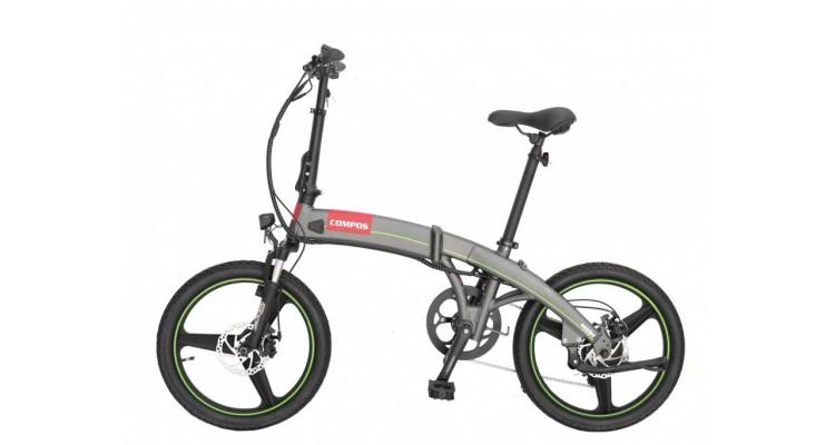 Compos bicicleta electrica pliabila poza kivi.ro
