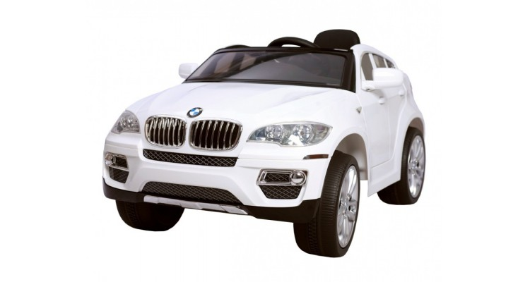 BMW X6- WHITE Masina pentru copii