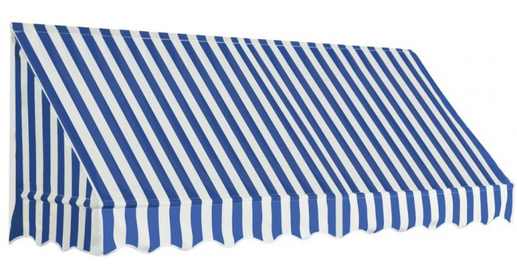 Copertina de bistro, albastru si alb, 250 x 120 cm poza kivi.ro
