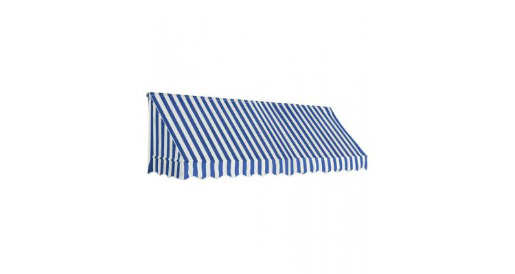 Copertina de bistro, albastru si alb, 300 x 120 cm imagine 2021 kivi.ro