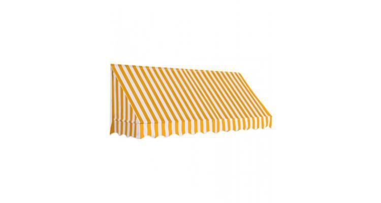 Copertina de bistro, portocaliu si alb, 250 x 120 cm