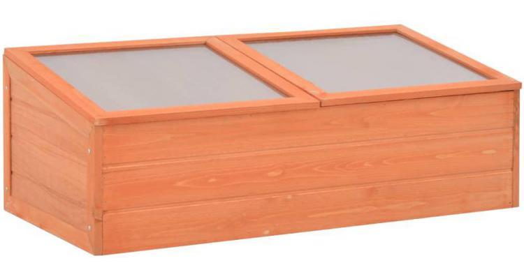Sera din lemn, 100 x 50 x 34 cm poza kivi.ro