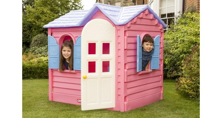 Casuta copii Hut roz Little Tikes