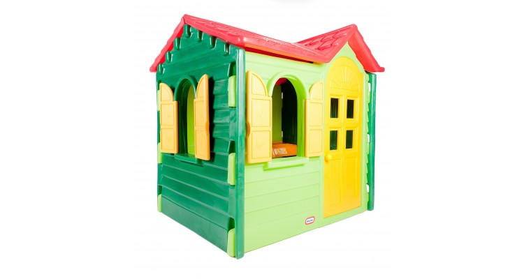 Casuta Copii Hut Verde Imagine