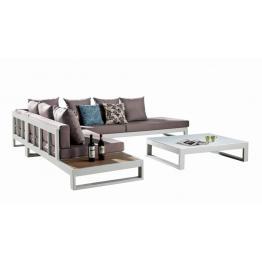 Set mobilier gradina coltar si masuta