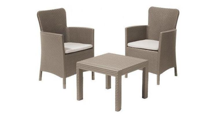 Set mobilier gradina SALVADOR BALCONY cappucinno