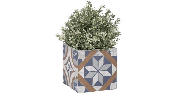 Jardiniera ceramica in stil mediteranean AC177 imagine 2021 kivi.ro