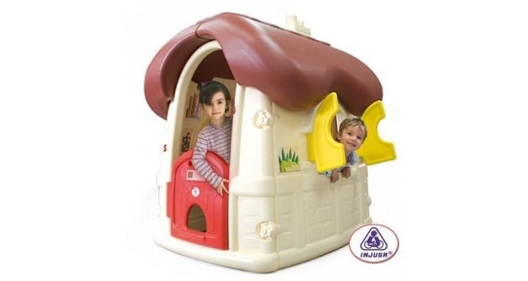 Casuta de exterior Chocolate Cottage marca Injusa