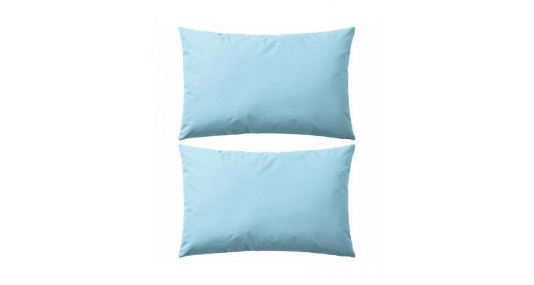 Perne de exterior, 2 buc., albastru deschis, 60 x 40 cm poza kivi.ro