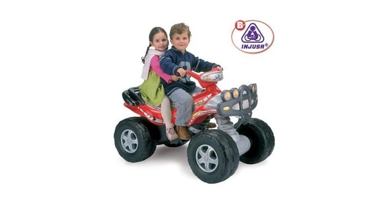 ATV electric copii Injusa Mega Cyclops 12V imagine 2021 kivi.ro