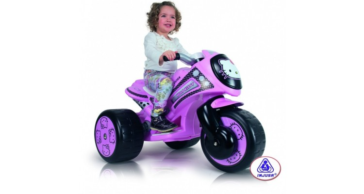 Tricicleta electrica Tribike Hello Kitty 6V Injusa