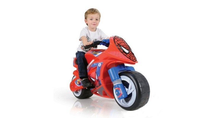 Motocicleta Wind Spiderman Sense 6V Injusa