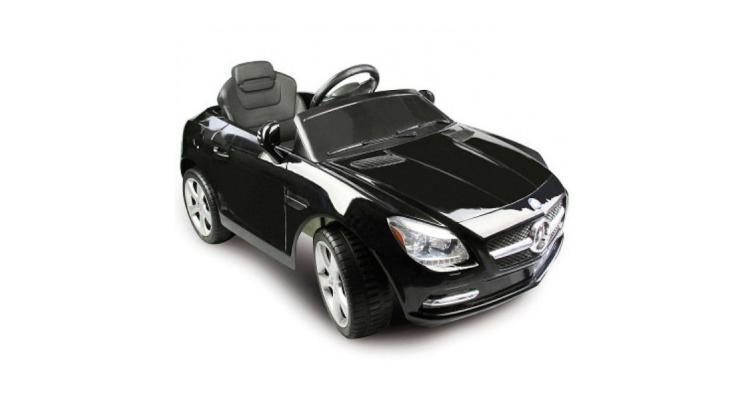Masinuta electrica copii Jamara 6 V Mercedes Benz SLK blacke poza kivi.ro