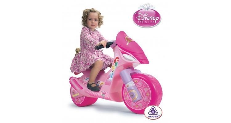 Motocicleta electrica Disney Princess 6V Injusa