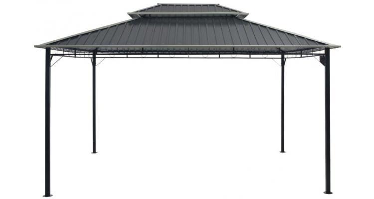 Pavilion gri 295 x 395 x 265 cm imagine 2021 kivi.ro