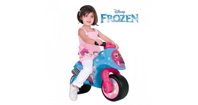 Motocicleta fara pedale Frozen Neox Injusa imagine 2021 kivi.ro