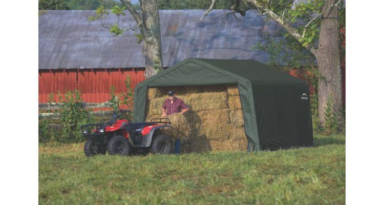 Magazie din prelata tip cort XL 3,7x3,7 m poza kivi.ro