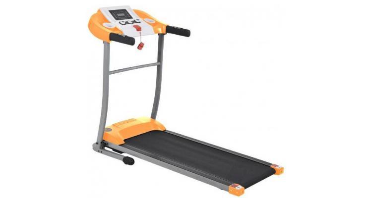 Banda de alergat electric FitTronic L300 white-orange poza kivi.ro