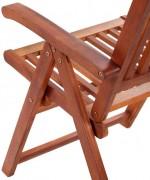 Scaun de gradina din lemn de salcam, 2 buc.