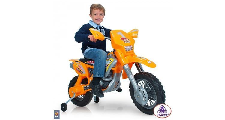 Motocicleta electrica Thunder Max VX 12V Injusa poza kivi.ro