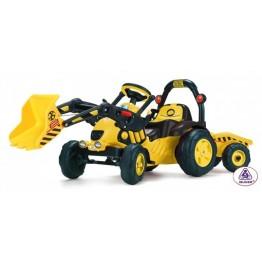 Tractor excavator cu remorca TOONY TRAC
