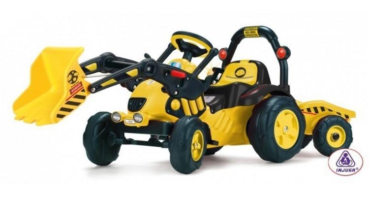 Tractor excavator cu remorca TOONY TRAC imagine 2021 kivi.ro