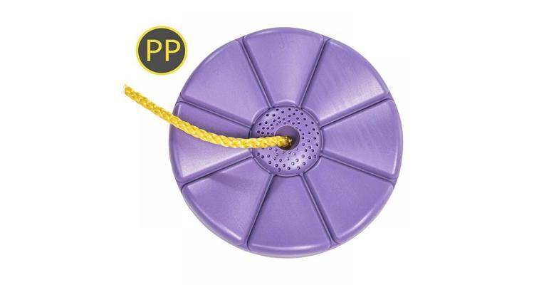 Leagan rotund din plastic PP lila imagine 2021 kivi.ro