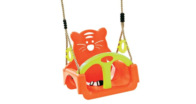 Leagan pentru copii Trix PP portocaliu-verde imagine 2021 kivi.ro